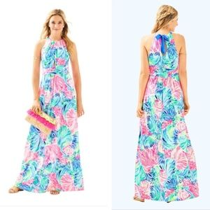 NEW! LILLY PULITZER Martina Maxi Dress (XS)